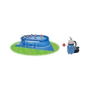 Marimex Bazén Tampa ovál 3,66x6,10x1,22 s pískovou filtrací Prostar 3 - 10340177