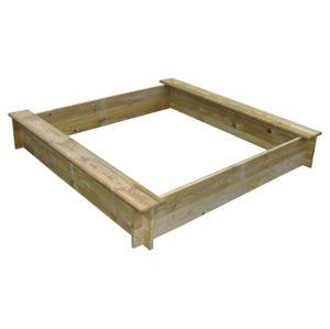 Marimex Dřevěné pískoviště čtyřhranné se dvěma sedátky - 11640356