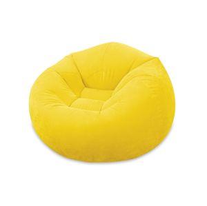 Marimex Nafukovací křeslo Intex - žluté - 116301374