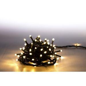 MARIMEX Řetěz světelný 200 LED 10 m - teplá bílá - 8 funkcí (18000070)